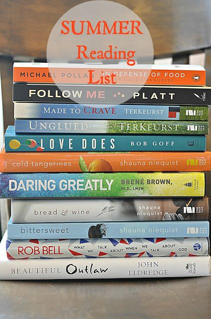 between you & me: Bring on the Books...