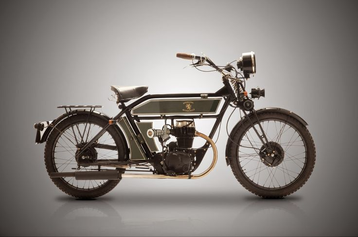 The Black Douglas Motorcycle