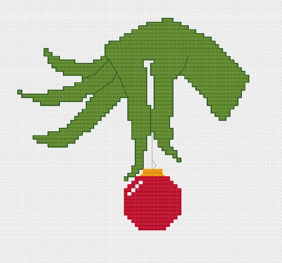 How the Grinch Stole Christmas cross stitch by evolvedxstitch
