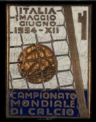 CAMPIONATO MONDIALE DI CALCIO 1934