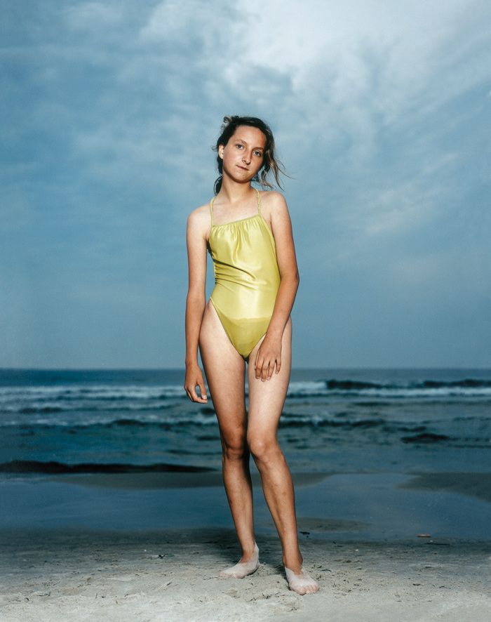 "Portraits by Dutch photographer Rineke Dijkstra from her series Beach Portraits (1992–2002.) ""I don't need to know anything about the people I photograph, but it's important that I recognize something about myself in them."" - Dijkstra"