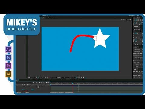 Vector shape layer trails in After Effects - YouTube