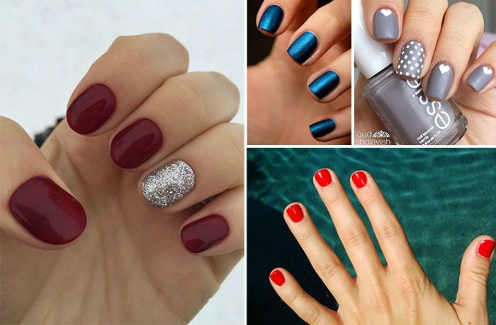 25 εκπληκτικές προτάσεις με χρώματα για μανικιούρ σε κοντά νύχια