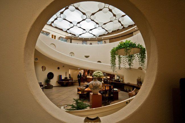 Only Frank Lloyd Wright building in sf: Xanadu Gallery