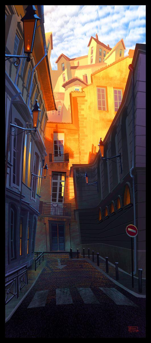 Avignon Sunrise by Gil RImmer