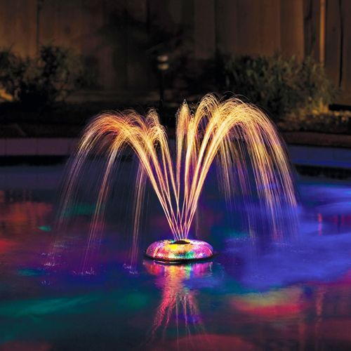1000 ideas about pool fountain on pinterest fade in - Swimming pool fountains and lights ...