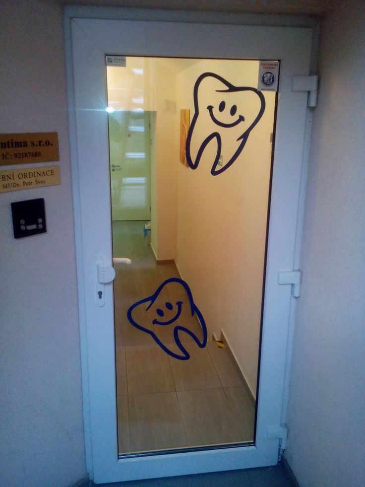 polep ordinace zubar