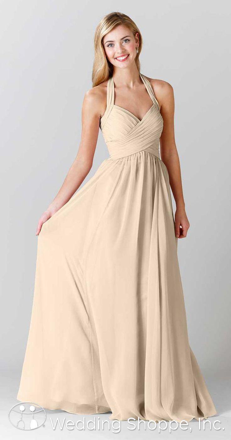 bright yellow halter bridesmaid dresses wwwimgkidcom