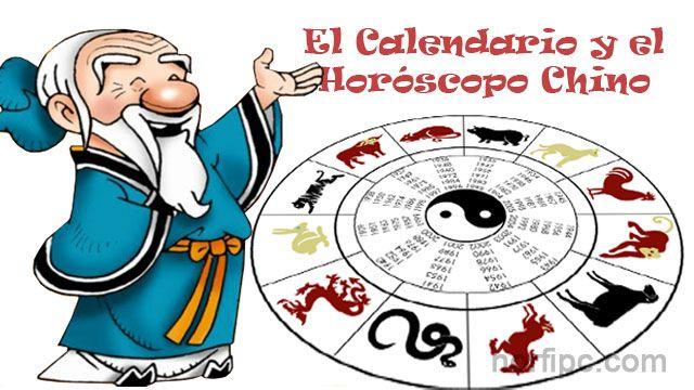 El calendario, el horóscopo y los signos del zodiaco chino