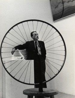 Duchamp, installation view