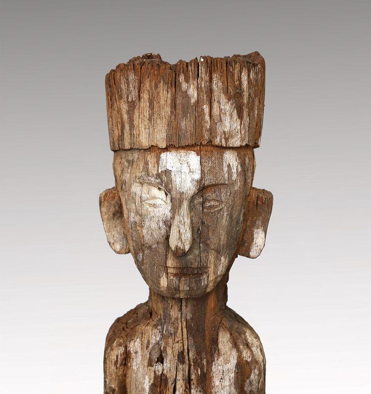 SOLD | Hampatong 'Ancestor figure' | Dayak Tribe | 19th Century or older | Iron Wood. #DayakTribe #GalleryInBali #robbreport #LaGazetteDeBali #architecturaldigest #thebalibible #balibibble #komangary #artnet #asianantiques #Dayak #indonesianantique #indonesianantiques #tefaf #metmuseum #googleartproject #asianArt  #parcoursdesmondes #tefaf2017 #indonesianprimitiveart #indonesiantribalart
