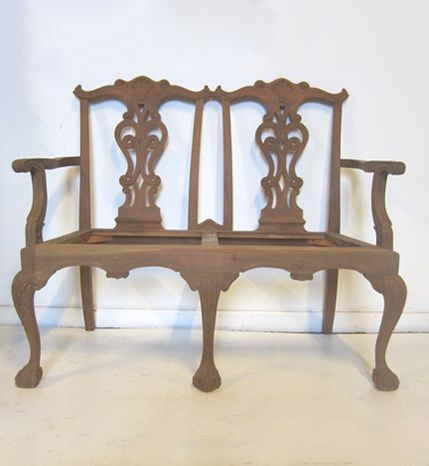 chippendale settee dynasty chippendale settee dutch. Black Bedroom Furniture Sets. Home Design Ideas