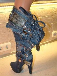 Летний женский сапог, с открытыми пальчиками. 6см каблук. - PODIUM - Индивидуальный пошив-VIP- эксклюзивной обуви. Мастер модельер-Дизайнер Александр Самуляк. 'Alexander Fehu'