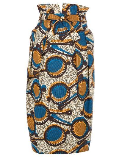 STELLA JEAN Tribal Print Skirt - love, love, love this! On sale on farfetch.com