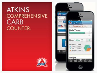 Free Atkins Carb Counter and Tracker App !! Easy Atkins Induction at home and on the go. Count and track carbs, find recipes, plan meals, view progress.