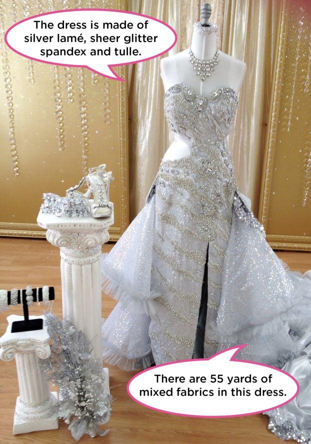 Celli Sondra bling wedding dresses pictures rare photo