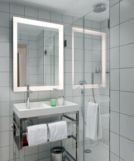 paris bathroom mama shelter hotel paris designed by philippe starck - Small Hotel Bathroom Design
