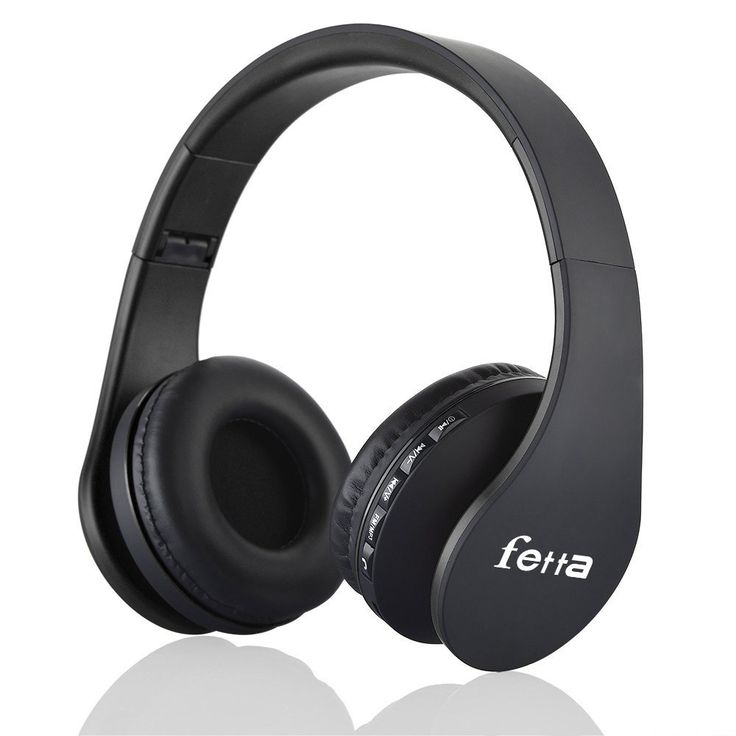 Fetta Wired On Ear Headphones with 3.5mm Audio Cable Wireless Stereo Bluetooth Headphones with Mic Protable Headsets Earphones for Smartphones,PC,Laptop,MP3 Player and More (Black). Bluetooth Technology: Advanced technology for clear handsfree calling and listening to music in noisy environments. Can be used both wired (via 3.5mm plug) and wireless. Foldable headphones for easy storage and transport. Comfortable wearing:Custom fit supra-aural soft earmuffs,artificial protein leather of...