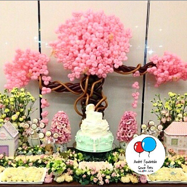 Muito amor por nossa cerejeira na festa da querida - Decoracion de bodegas y merenderos ...