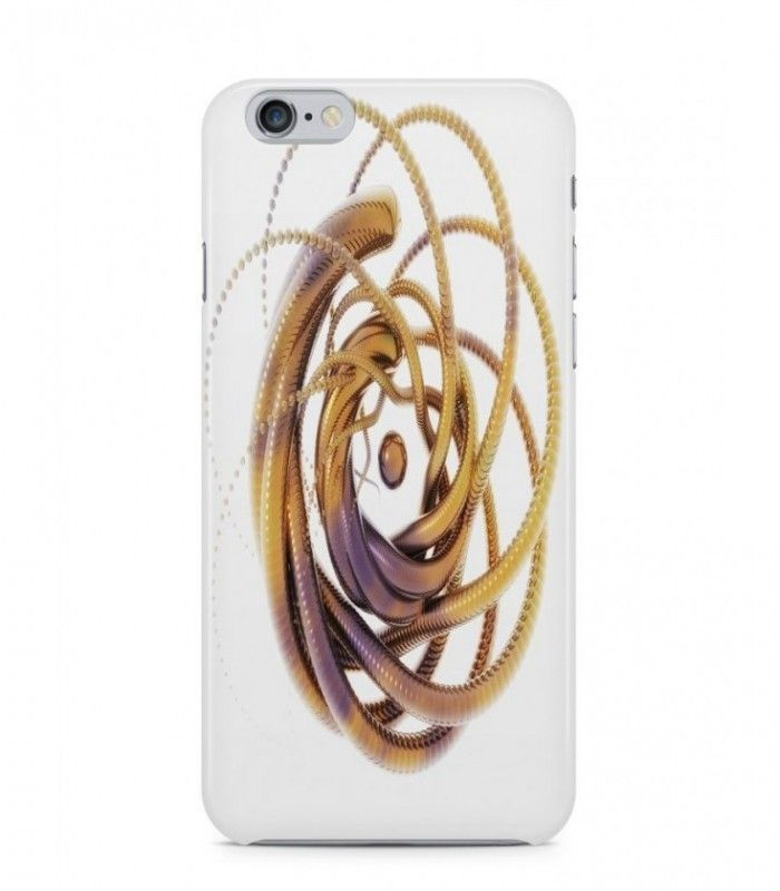 Extraordinary Gold Thing Alien Theme 3D Iphone Case for Iphone 3G/4/4g/4s/5/5s/6/6s/6s Plus - ALN0171 - FavCases