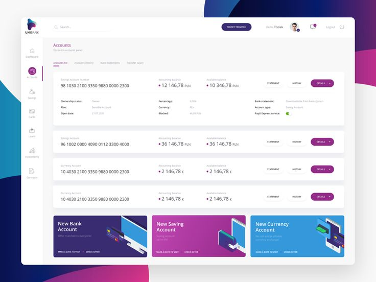 Check out this Banking Dashboard! We have prepared it during workshops for a potential client. While designing, we focused heavily on a user. After all, it is about people, not numbers. Let us know...