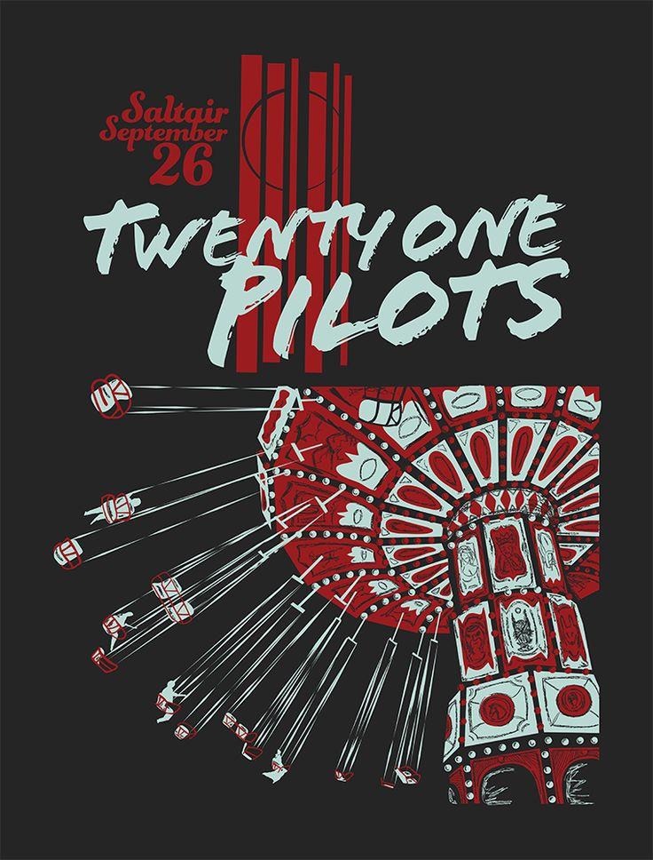 TWENTY ONE PILOTS   Furturtle Show Prints