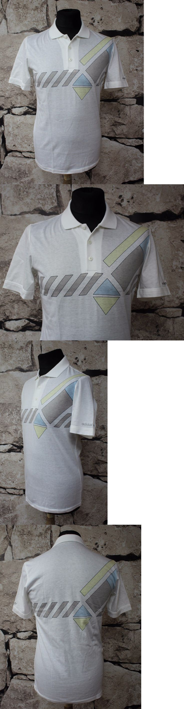 T-Shirts 175781: _ Adidas Ivan Lendl Colection _ Tenis Polo Shirt _ Made In West Germany Size S -> BUY IT NOW ONLY: $40 on eBay!