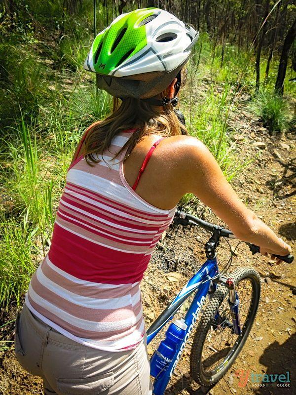 Mountain Biking in Atherton Tablelands, Queensland, Australia