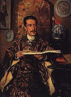 Retrato de Abel Acácio Botelho (1889) de António Ramalho (1858-1916).