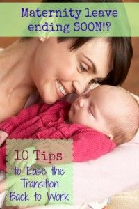 17 Best images about Back to Work After Maternity Leave on ...