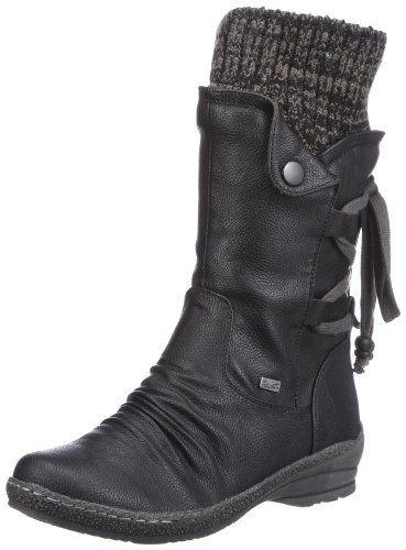 Rieker 90173-00, Damen Langschaft Stiefel, Schwarz (schwarz/black-grey / 00), 39 EU (6 Damen UK) Rieker http://www.amazon.de/dp/B007YIJWSM/ref=cm_sw_r_pi_dp_47LSvb0BTD6ZR