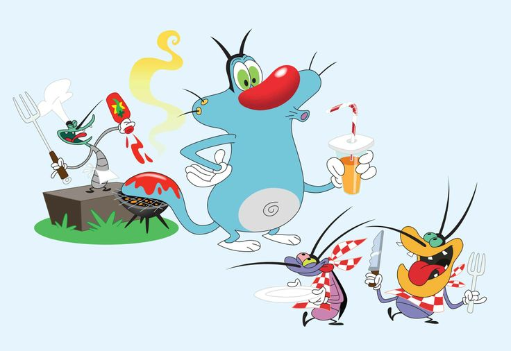 Oggy And The Cockroach