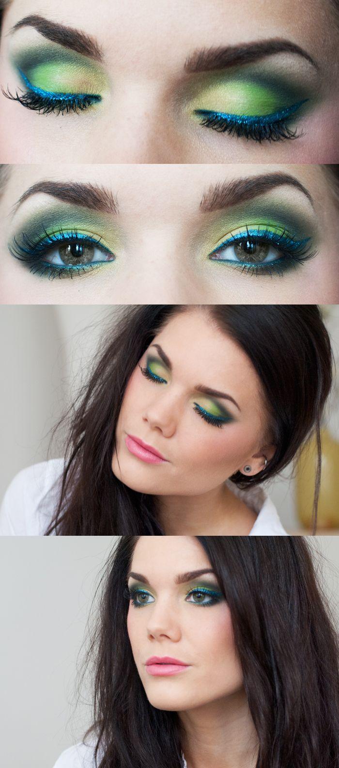 Blue Makeup: Best 25+ Blue Green Eyes Ideas On Pinterest