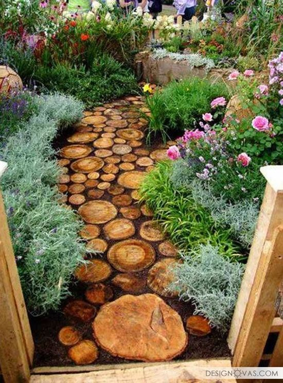 When you read about garden design, it's usually about flora and fauna. These are, of course, most important aspect if you want your garden to look glorious. But that's not all you should consider. Let's think how people are going to explore the garden, rich in color and fragrance. Shall they walk on the grass …
