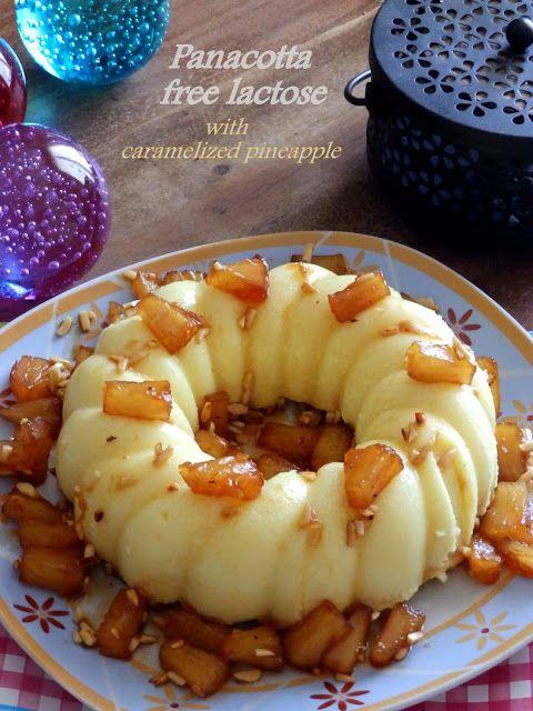 Πανακότα ανανά με ζάχαρη καρύδας, χωρίς λακτόζη - Tante Kiki