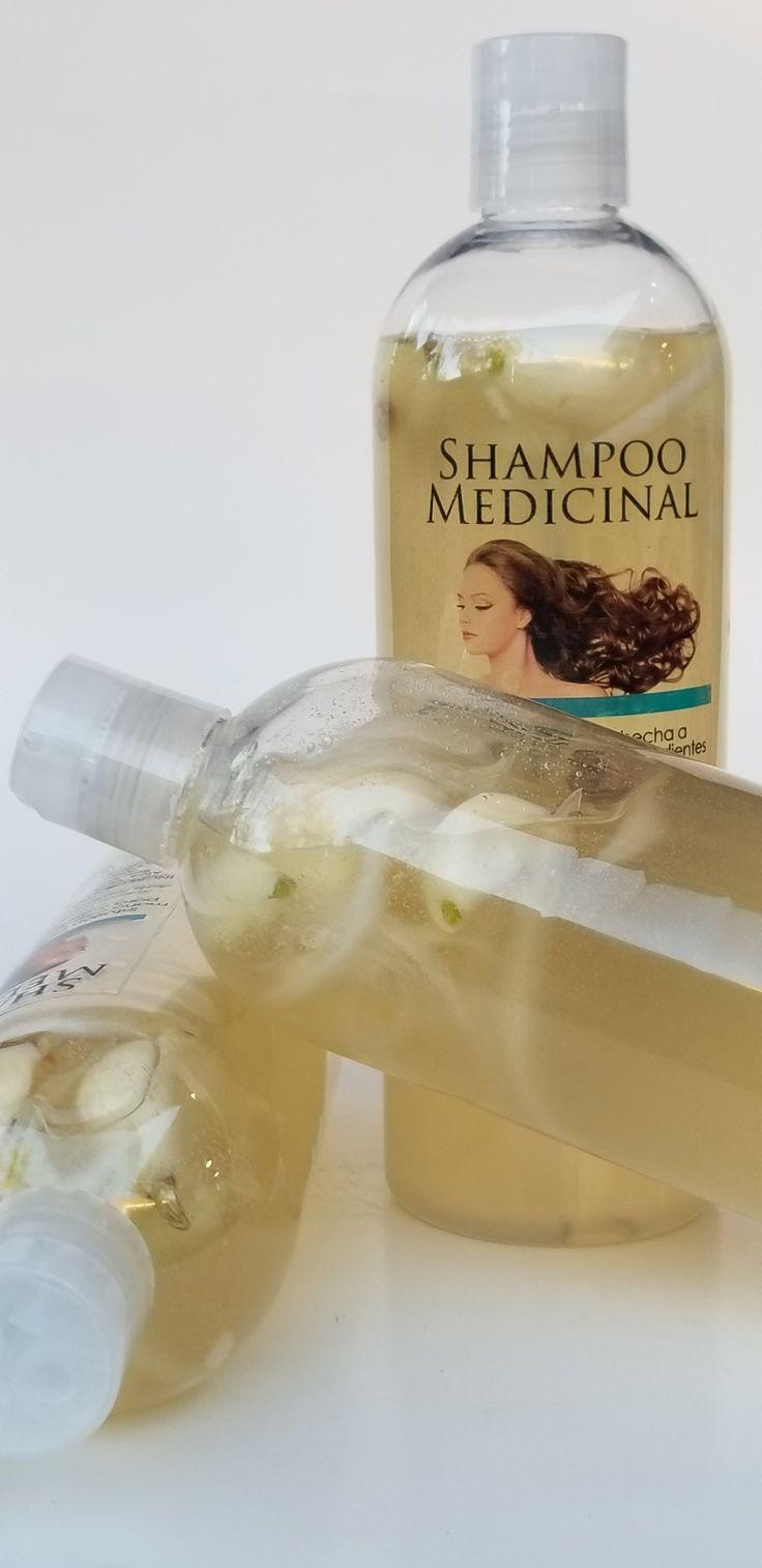 Shampoo de Ajo Cebolla