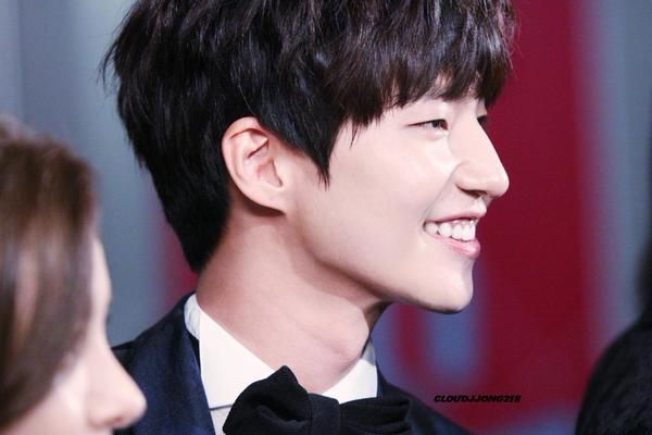 Song Jae Rim at MBC Award Event on Dec 29, 2014