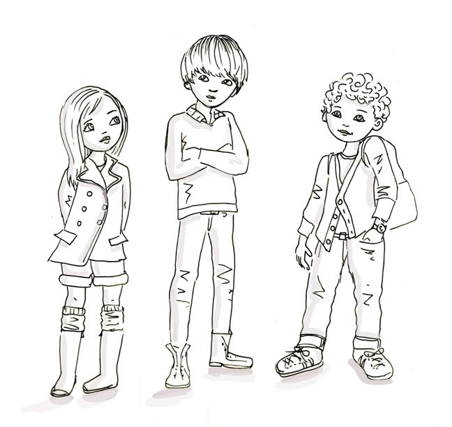 Line Drawing For Kids : Best images about sketches and doodles on pinterest