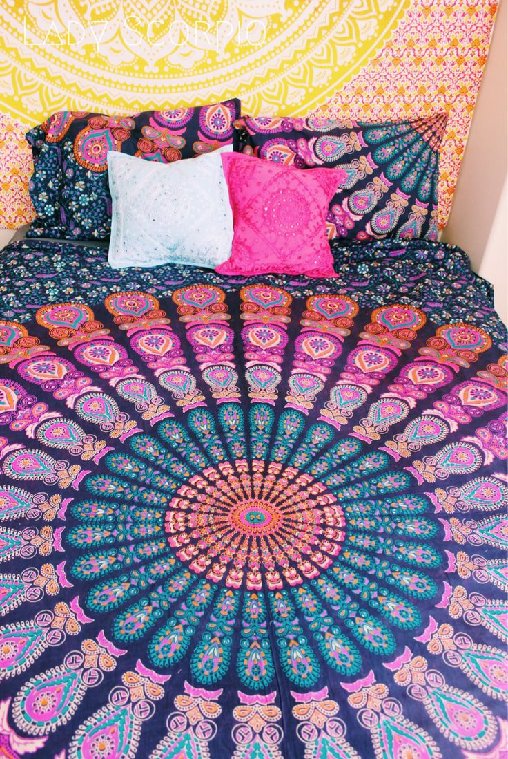 Lady Scorpio Mandala Duvet & Bedroom Decor