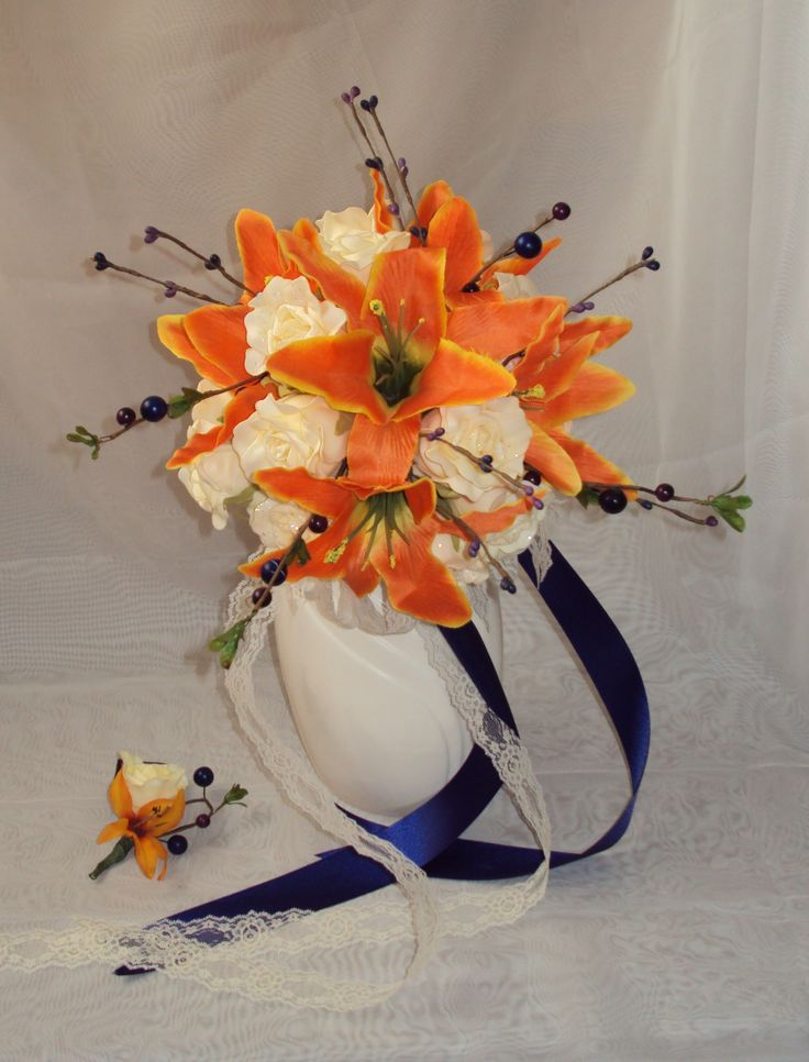 Bridal Bouquet & Grooms Bout