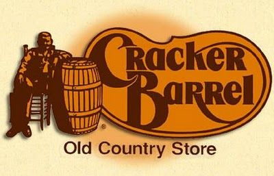 Cracker Barrel When you can't cook yourself, On the Road Again...