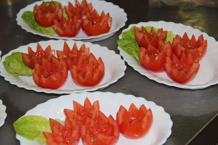 Pomidory będą faszerowane.