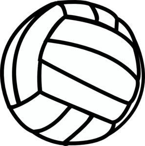 Volleyball clip art - vector clip art online, royalty free & public domain