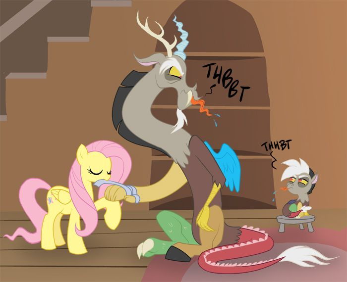 Baby Discord And Fluttershy 216 best images...