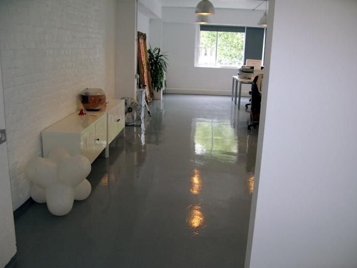 Resin floor Coating - Goosewing Grey