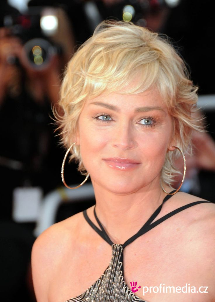 sharon stone Peinado de Sharon Stone Sharon Stone