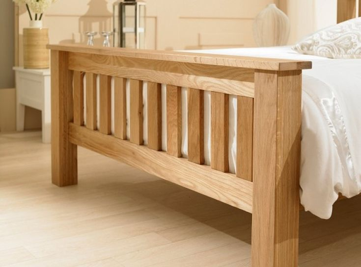 Best 25 Solid oak beds ideas on Pinterest Floating bed frame