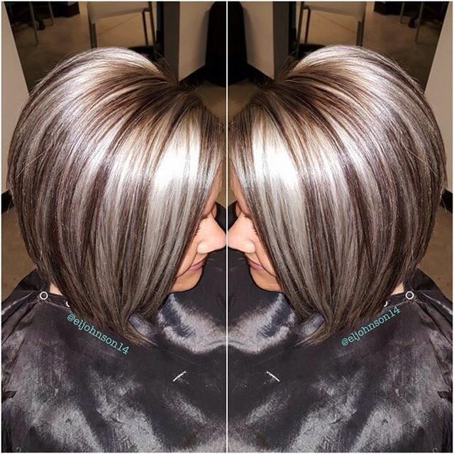 100 Ideas To Try About Bob Haircuts Highlights Chunky