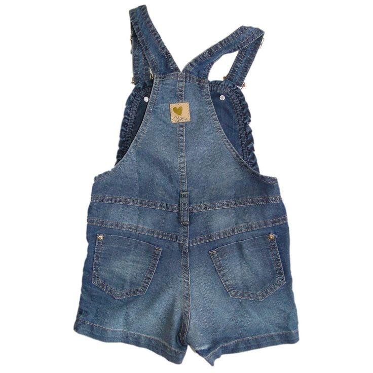 25 best ideas about jardineira jeans infantil on for Jardineira jeans infantil c a