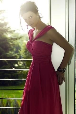 Laura Pausini wears a stupendous dress